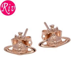 全品5%還元 ヴィヴィアン ウエストウッド Vivienne Westwood ピアス LORELEI アクセサリー スタッズ ピンクゴールド 真鍮 be1177-3|riverall-men