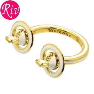全品5%還元 ヴィヴィアン ウエストウッド Vivienne Westwood リング 指輪 IONA RING レディース アクセサリー ロジウム ラインストーン br1137-1|riverall-men
