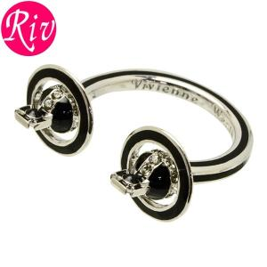 全品5%還元 ヴィヴィアン ウエストウッド Vivienne Westwood リング 指輪 IONA RING レディース アクセサリー ロジウム ラインストーン br1137-3|riverall-men