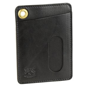 エコバッグ付 イルビゾンテ IL BISONTE カードケース パスケース メンズ c0786p riverall-men