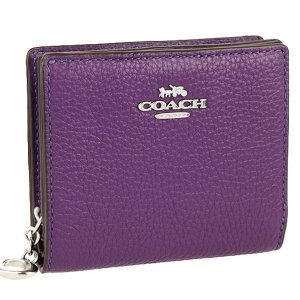 ショッパー付き コーチ COACH 財布 折財布 二つ折り アウトレット c2862|riverall-men