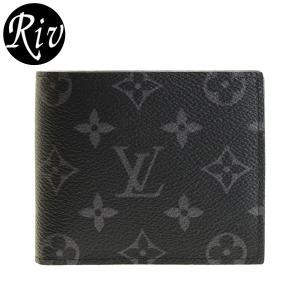 ルイヴィトン LOUIS VUITTON 財布 折財布 二つ折り メンズ m62545 riverall-men