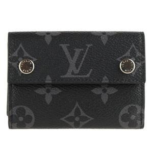 ルイヴィトン LOUIS VUITTON 財布 折財布 ミニ コンパクト メンズ m67630 riverall-men