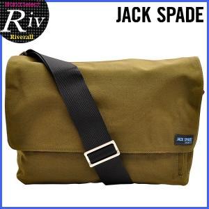 エコバッグ付 ジャックスペード JACK SPADE ショルダーバッグ メンズ DAY BAG 斜めがけ 新作 nyru0049|riverall-men