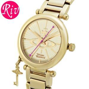 [厳選]ヴィヴィアン・ウエストウッド Vivienne Westwood 腕時計 レディース vv006kgd riverall-men