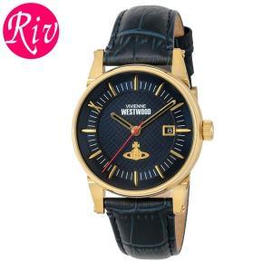 [厳選]ヴィヴィアン・ウエストウッド Vivienne Westwood 腕時計 メンズ vv065blbl riverall-men