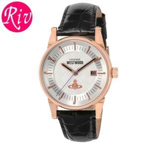 [厳選]ヴィヴィアン・ウエストウッド Vivienne Westwood 腕時計 メンズ vv065swhbk riverall-men