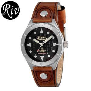 [厳選]ヴィヴィアン・ウエストウッド Vivienne Westwood 腕時計 レディース メンズ ユニセックス vv160bkbr riverall-men