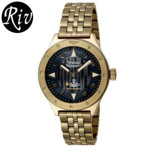 [厳選]ヴィヴィアン・ウエストウッド Vivienne Westwood 腕時計 レディース メンズ ユニセックス vv160nvgd riverall-men