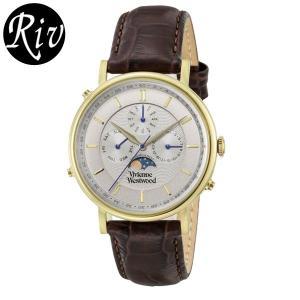 [厳選]ヴィヴィアン・ウエストウッド Vivienne Westwood 腕時計 メンズ vv164chbr riverall-men
