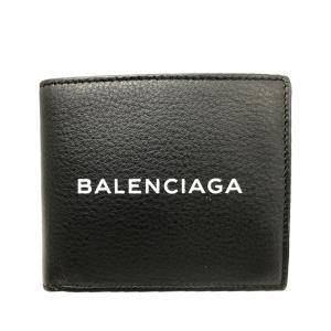 全品ポイント5倍 25日限定 当店限定エコバッグ付 数量限定入荷 バレンシアガ BALENCIAGA 財布 折財布 二つ折り メンズ アウトレット|riverall-men