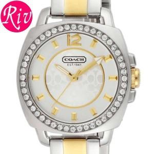 コーチ COACH 腕時計 BOYFRIEND SMALL 33.5mm シルバー ゴールド ステンレススチールYGPVD 14501702 riverall