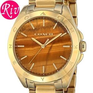 コーチ COACH 腕時計 TRISTEN 36mm レディース ゴールド ステンレススチールYGPVD 14502053 riverall