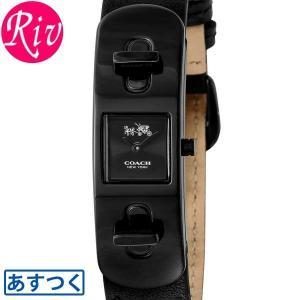 コーチ COACH 腕時計 SWAGGER 50mm レディース ブラック カーフレザー 14502225 riverall