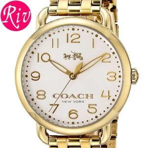 コーチ COACH 腕時計 DELANCEY 36mm レディース ゴールド ステンレススチールYGPVD 14502261 riverall