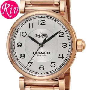 コーチ COACH 腕時計 MADISON FASHIONI 32mm レディース ピンクゴールド ステンレススチールRGPVD 14502395 riverall