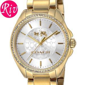 コーチ COACH 腕時計 TRISTEN 35.5mm レディースゴールド ステンレススチールYGPVD 14502470 riverall