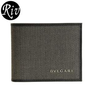 ブルガリ/BVLGARI   財布   札入れ Week-end シンプルながらフロントのロゴ金具が...