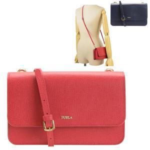 FURLA   バッグ   ショルダーウォレット RIVA斜めがけショルダーバッグと長財布がセットに...