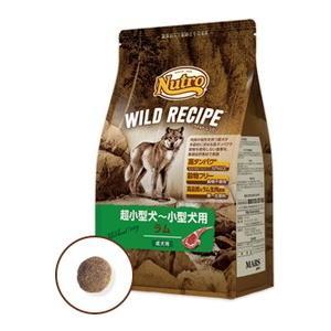 【ニュートロ】ワイルドレシピ 超小型犬〜小型犬用 成犬用 ラム 4kg