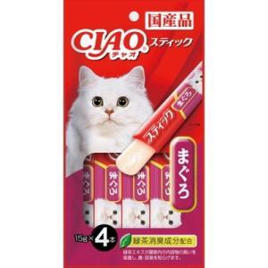 【いなばペット】チャオ スティック まぐろ 15gx4P 4SC−81