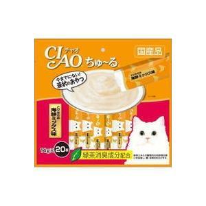 【いなばペット】チャオ ちゅ〜る とりささみ 海鮮ミックス味 14gx20本|riverside