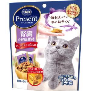 【日本ペット】コンボ プレゼント キャット おやつ 腎臓の健康維持 42g(14袋)|riverside