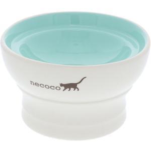 【ペティオ】necoco 脚付き陶器食器 ウェットフード向き(陶器製)|riverside