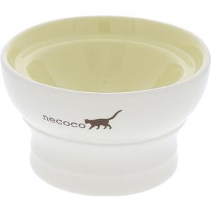 【ペティオ】necoco 脚付き陶器食器 ドライフード向き(陶器製)|riverside