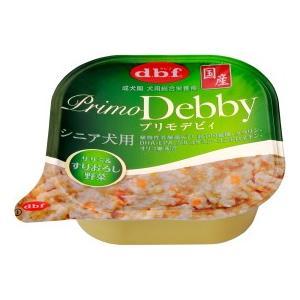 【デビフペット】プリモデビィ シニア犬用 ササミ&すりおろし野菜 95g riverside