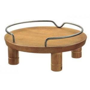 【リッチェル】木製テーブル シングル ブラウン|riverside