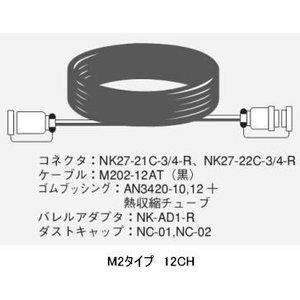 CANARE 12CH/10mマルチケーブル/M2タイプ rizing
