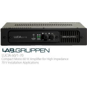 LAB.GRUPPEN(ラブグルッペン) Luciaシリーズパワーアンプ ハイインピーダンス対応モデル Lucia60/1-70|rizing