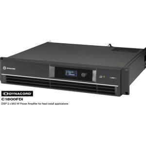 DYNACORD Cシリーズ固定設備向けパワーアンプ C1800FDi|rizing