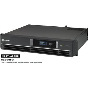 DYNACORD Cシリーズ固定設備向けパワーアンプ C2800FDi|rizing