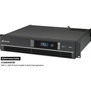 DYNACORD Cシリーズ固定設備向けパワーアンプ C3600FDi|rizing