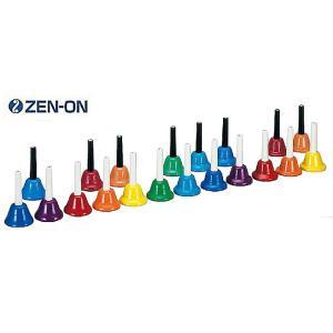 ゼンオン/全音 ミュージックベル カラーハンド式タイプ 20音セット CBR-20|rizing