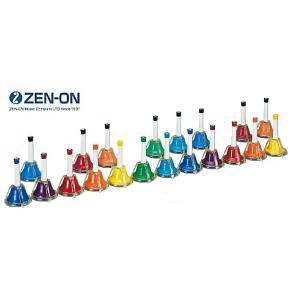 ゼンオン/全音 ミュージックベル カラータッチ式タイプ 20音セット CBR-20T|rizing