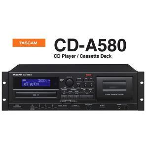 TASCAM カセットレコーダー/CDプレーヤー/USBメモリーレコーダー CD-A580 rizing