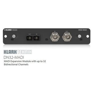 KLARK TEKNIK MIDASミキサー アクセサリーカード DN32-MADI
