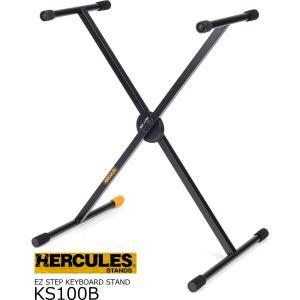 HERCULES ハーキュレス シングルX キーボードスタンド KS100B|rizing
