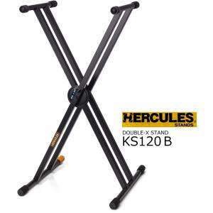 HERCULES ダブルXキーボードスタンド KS120B|rizing