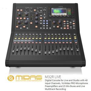 MIDAS コンパクトデジタルコンソール M32R-LIVE