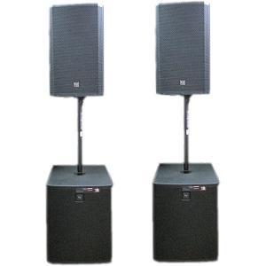 ■Electro-Voice■ ZLX-15P + ELX118P EVパワードスピーカー 1対向セット|rizing