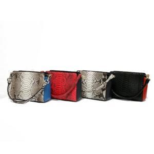 パイソン 牛革 2way バッグ レディース メンズ 女性 男性 本革 斜め掛け バック ハンドバッグ ハンドバック 斜めがけバッグ sprice 新品|rk-y