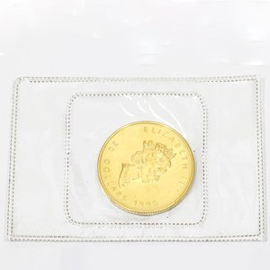 K24 メイプルリーフ コイン 1/2オンス カナダ 1995年 純金 24金 金貨 中古|rk-y