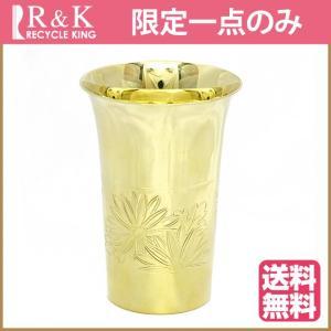 コップ カップ 酒杯 ぐい飲み K18 50.3g 18金 黄金展 ゴールド 中古 cup|rk-y