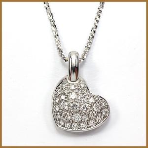 ショーメ ネックレス レディース 18金 CHAUMET K18WG ダイヤモンド ホワイトゴールド BJ *  中古 necklace sprice0708|rk-y