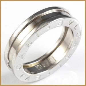 ブルガリ リング 指輪 レディース K18WG 18金 BVLGARI 7号 #47 ホワイトゴールド BJ * 女性 かわいい オシャレ 中古 ring 価格見直し|rk-y