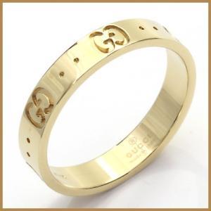 グッチ リング 指輪 レディース K18 18金 GUCCI 16.5号 #17 BJ_ * 女性 かわいい オシャレ 中古 ring 価格見直し rk-y